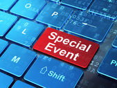 Business concept: Special Event on computer keyboard background — Stock Photo
