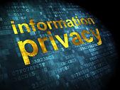 Privacy concept: Information Privacy on digital background — Stockfoto