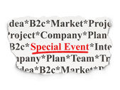 Business concept: Special Event on Paper background — Stock Photo