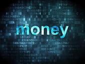 Finance concept: Money on digital background — Stock Photo