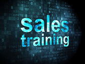 Marketing concept: Sales Training on digital background — Stock Photo