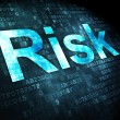Business concept: Risk on digital background — Stock Photo #38347893