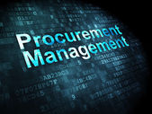Business concept: Procurement Management on digital background — Stock Photo