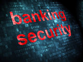 Security concept: Banking Security on digital background — Stock Photo