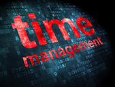 Timeline concept: Time Management on digital background — Stock Photo