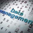 Information concept: Data Management on Hexadecimal Code background — Stock Photo