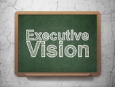 Business concept: Executive Vision on chalkboard background — Foto de Stock