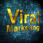 ������, ������: Advertising concept: Viral Marketing on digital background