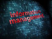 Zarządzanie informacją na cyfrowe — Zdjęcie stockowe