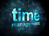 Timeline concept: Time Management on digital background — ストック写真