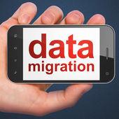 Veri kavramı: akıllı veri taşıma — Stok fotoğraf
