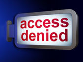 Privacy concept: Access Denied on billboard background — Foto Stock