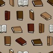 Çizgi film sorunsuz geçmiş kitaplar — Stok Vektör