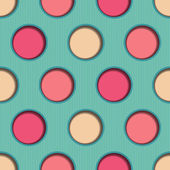 3d Dots Seamless Background — Vettoriale Stock