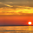 Beautiful sunset over the ocean — Stock Photo #13165051