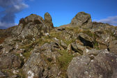 Mountain rock formations — Stock Photo
