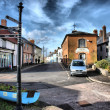 Watchet town centre somerset uk — Stock Photo