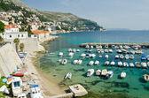 Dubrovnik Old City medieval architecture, Dalmatia County — Stock Photo
