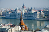 The Parliament (Hungary) at Budapest — Stock Photo