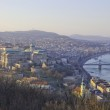 View of Budapest in evening, Hungary — Stock Photo #12756896