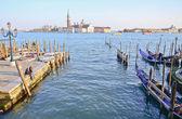 San giorgio maggiore veneza, itália — Foto Stock