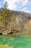 Breathtaking view in the Plitvice Lakes National Park, Croatia — Stock Photo