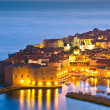 Dubrovnik by night, Croatia — Stock Photo #14941297