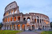 Colosseum at Dusk, Rome Italy — Stock Photo