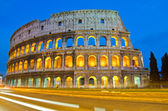 Colosseum at Dusk, Rome Italy — Stock Photo