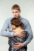 Guy and girl — Stock Photo