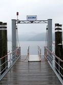 View of lake Maggiore in Ascona — Foto Stock