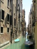 Canal view in Venice, Italy — Stock Photo