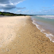 Omaha Beach in Normandy, France — Stock Photo