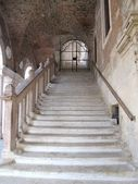 Steps of the Palladian Basilica in Vicenza, Italy — Stock Photo