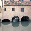 Stock Photo: Canale dei Buranelli in historic center of Treviso (Italy)