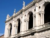 Detail of Palladian Basilica, Vicenza Italy — Stock Photo