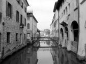 Historic center of Treviso (Italy) — Stock Photo