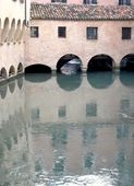 Canale dei Buranelli in the historic center of Treviso (Italy) — Stockfoto