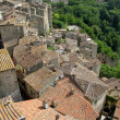 Stock Photo: Sorano village