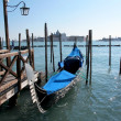 Gondolas in Venice, Italy — Stock Photo #20984005