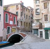 Bridges of Venice, Italy — Stock Photo