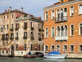Palácios no grande canal de veneza, itália — Foto Stock