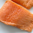 Salmon fillets — Stock Photo