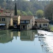 Stock Photo: Borghetto village .Valeggio sul Mincio, Italy
