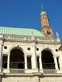 Palladian Basilica in Vicenza, Italy — Stock Photo