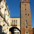Stock Photo: Medieval tower in Vicenza, Italy