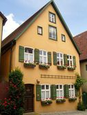 Dinkelsbuhl house in Germany — Stock Photo