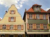 Dinkelsbuhl houses — Foto de Stock