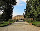 Villa Bissari Curti. Venetian villa in the city of Vicenza — Stock Photo
