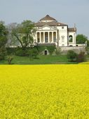 Palladio's Villa La Rotonda  in Vicenza, Italy — Stock Photo